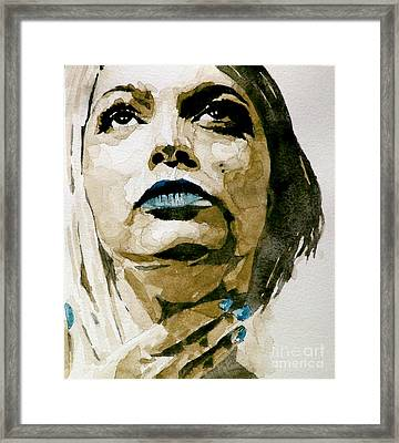 If There's A Big Guy Up There Framed Print by Paul Lovering