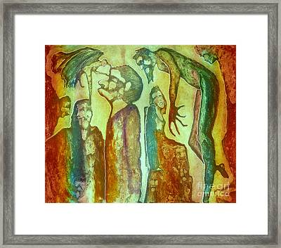 If Thine Eye Framed Print by Linda May Jones