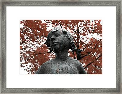If Trees Could Cry Framed Print by Steve K