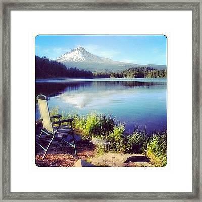 If U Want To Live A Peaceful Life Like Framed Print