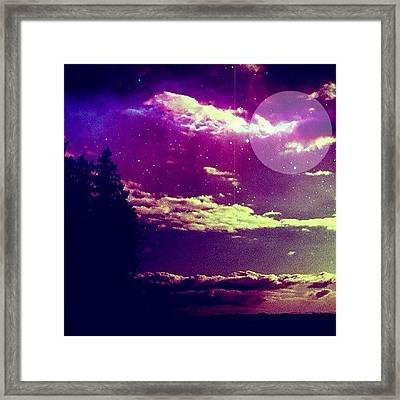 If We Were On Alderaan. #ig Framed Print