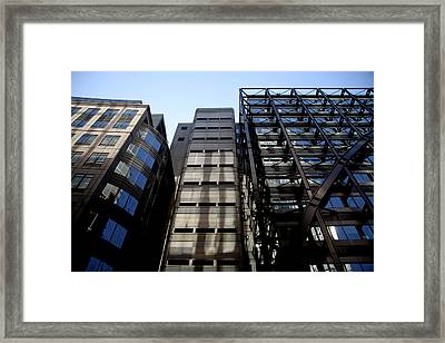 If You'd Be Lost Framed Print by Jez C Self