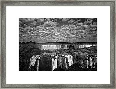 Iguacu Falls Framed Print by Keith Kapple