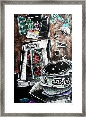 Il Mio Rifugio Framed Print by Arte Venezia