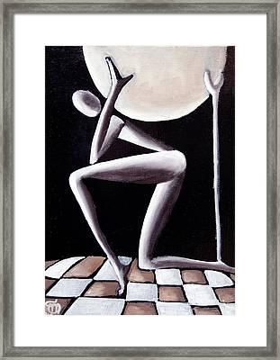 Il Peso  Framed Print by Simona  Mereu