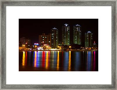 Ilgwang-myeon Beach South Korea Framed Print by Gabor Pozsgai
