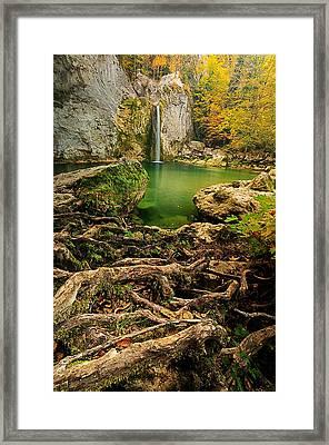 Ilica Waterfall Framed Print by Okan YILMAZ