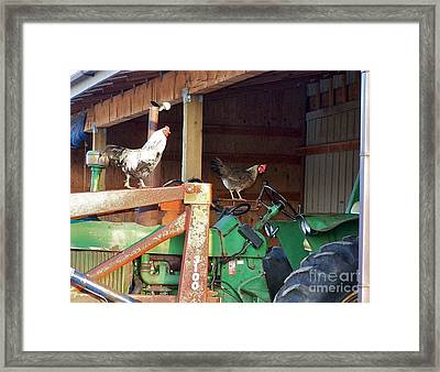 I'll Drive Framed Print by KD Johnson