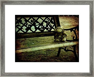 I'll Wait For You Framed Print by Leah Moore