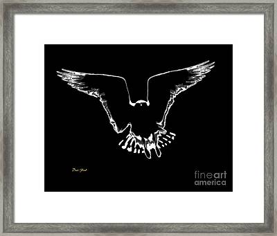 Illuminated Framed Print by Dale   Ford