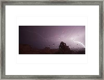Illuminating Wetness Framed Print by Andreas Hohl