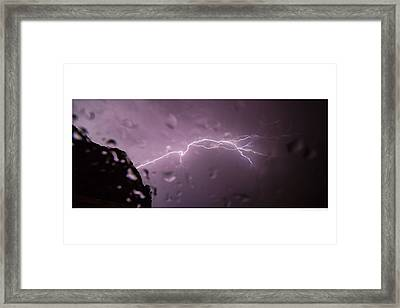 Illuminating Wetness II Framed Print by Andreas Hohl