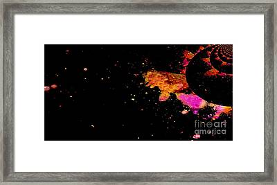 Illusion - A Planet Where Everyone Is From Kings And Queens Framed Print by Fania Simon