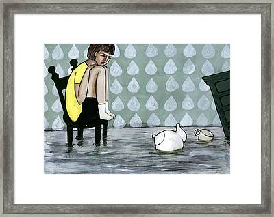 Illustration And Painting Framed Print by Georgiana Chitac
