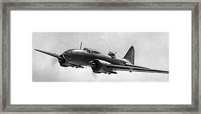 Ilyushin Il-4, Soviet Ww2 Bomber Framed Print