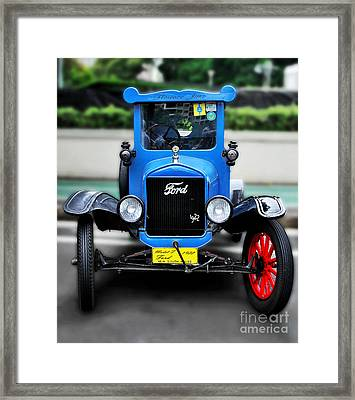 I'm Cute - 1922 Model T Ford Framed Print