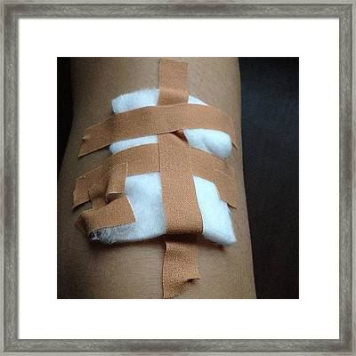 I'm Failing At First Aid. #first #aid Framed Print