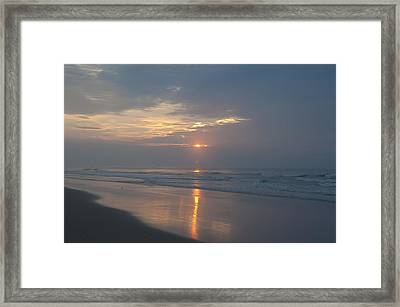 I'm Gonna Get Up And Make My Life Shine Framed Print by Bill Cannon