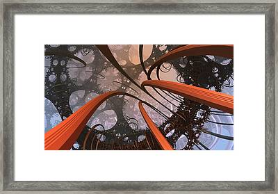I'm More Loopy Than I Thought Framed Print by Ricky Jarnagin