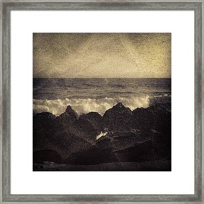 I'm On A Date With This View Framed Print by Christi Evans