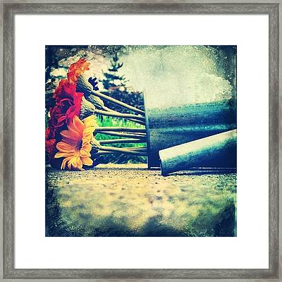 I'm So Deep And Meaningful. #iphone Framed Print by Johnathan Dahl