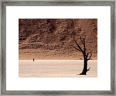 I'm Walking Framed Print by Nina Papiorek