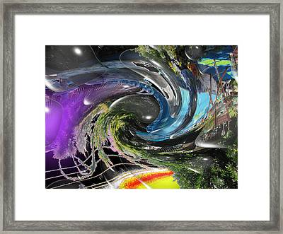 Imagination 2 Framed Print by HollyWood Creation By linda zanini