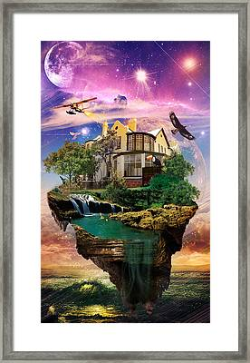 Imagination Home Framed Print by Kenal Louis