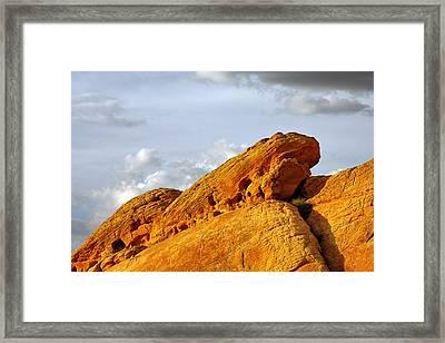 Imagination Runs Wild - Valley Of Fire Nevada Framed Print by Christine Till