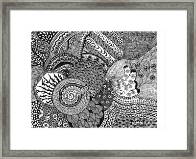 Imagination Framed Print by Shweta Singh