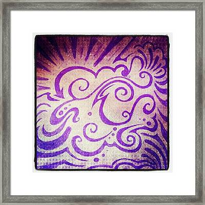 Imaginationartshop.com Doodle #sharpie Framed Print