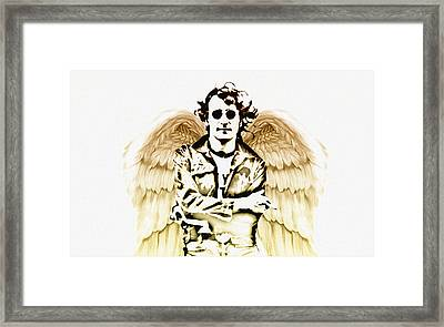 Imagine There's No Heaven Framed Print