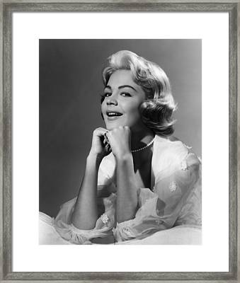 Imitation Of Life, Sandra Dee, 1959 Framed Print by Everett