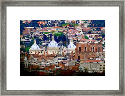 Immaculate Conception Domes II Framed Print by Al Bourassa