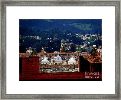 Immaculate Conception Domes IIi Framed Print