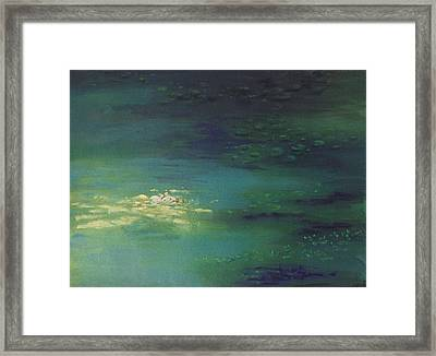 Immersion Framed Print by Shankar Subramaniam