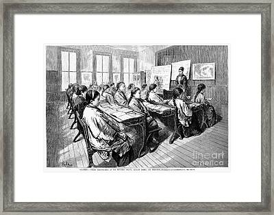 Immigrants: Chinese, 1876 Framed Print by Granger
