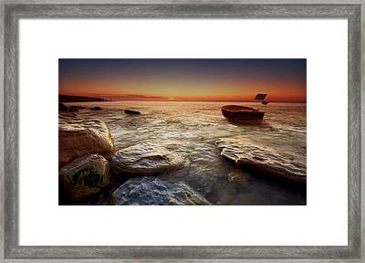 Imminent Sun Framed Print by Mark Leader