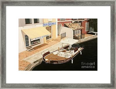 Immobilier Framed Print by Carina Mascarelli