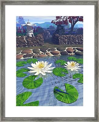 Immortal Dragonfly Framed Print by Diana Morningstar