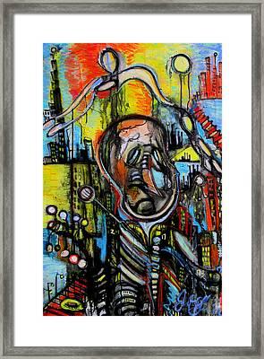 Impaired Judgement  Framed Print by Jon Baldwin  Art