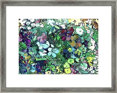 Impatience Framed Print by Mindy Newman