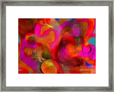 Implications Framed Print
