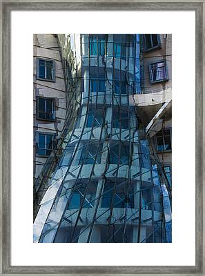 Implosion Framed Print by Miguel Valvano