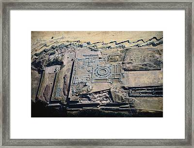 Imposing Incan Fortress Of Sacsayhuaman Framed Print