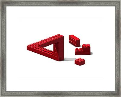 Impossible Triangle, Artwork Framed Print