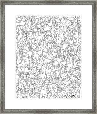 Impression Of Love Framed Print