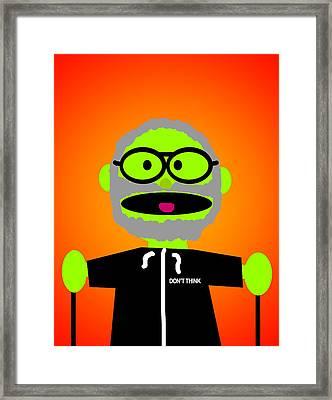 Improv Puppet Framed Print by Jera Sky