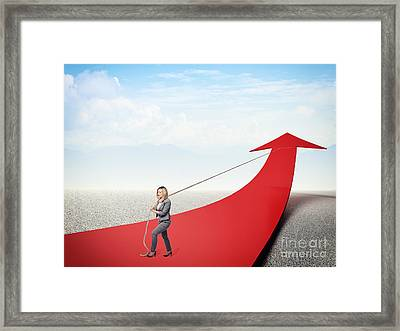 Improve Framed Print by Gualtiero Boffi