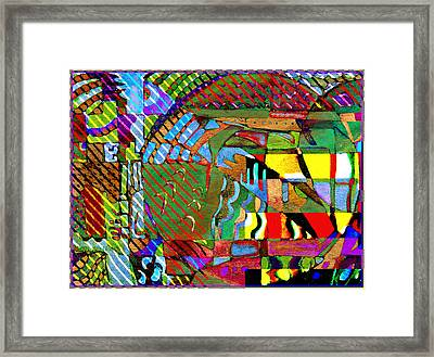 Improvisation Framed Print by Mindy Newman